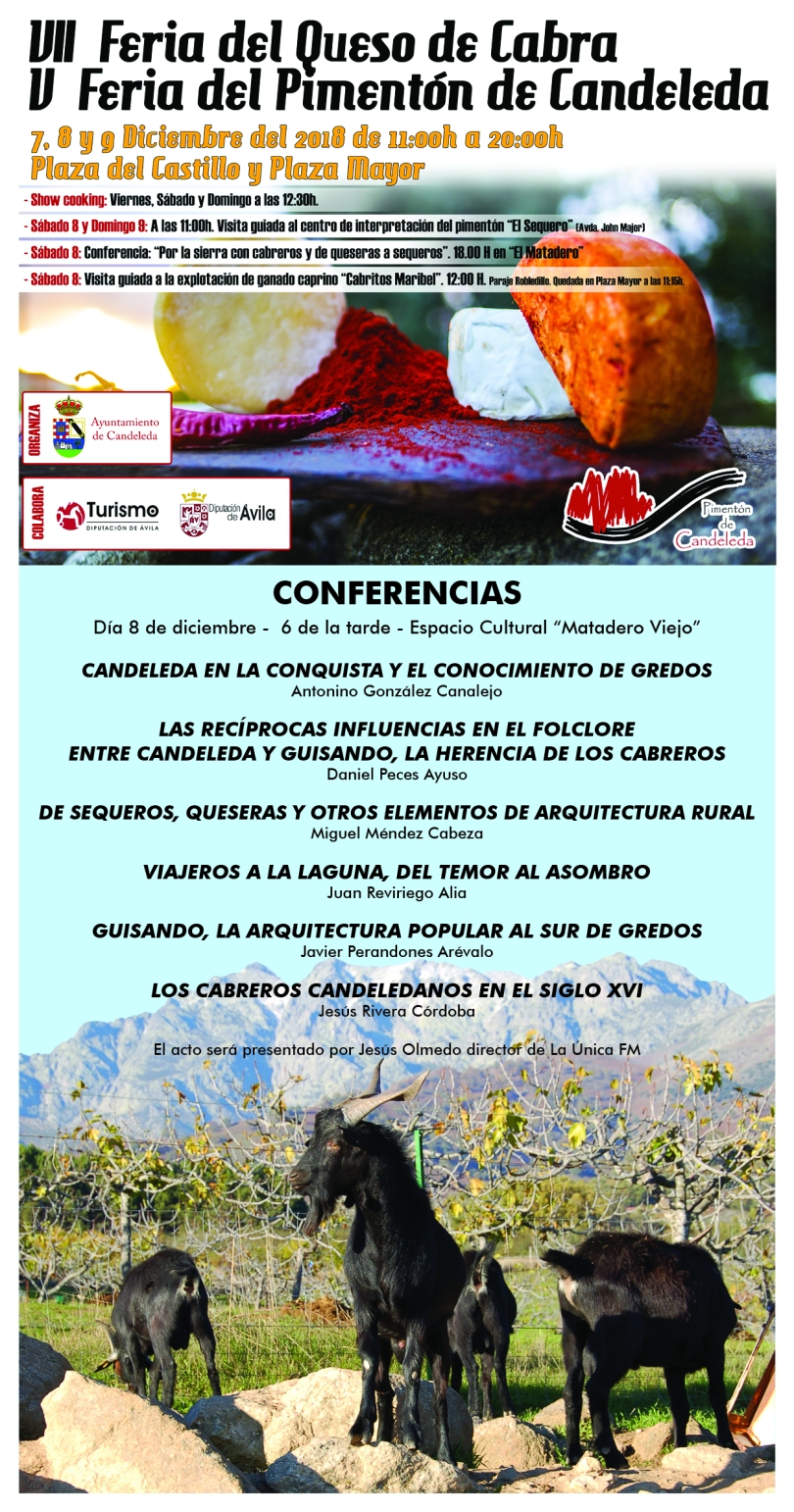 Cartel conferencias