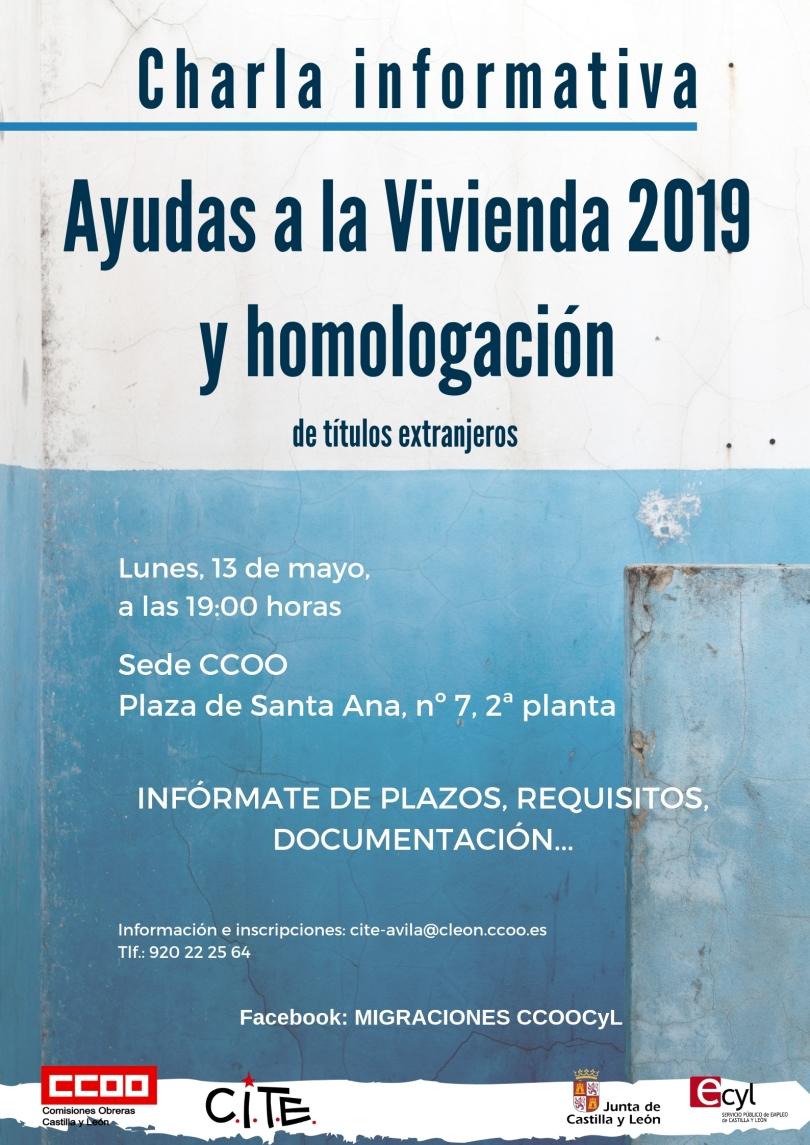 Ayudas 2019 Ávila